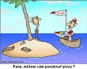 Pizza se někde rozváží už i na lodích
