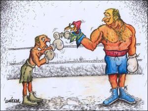 V boxu najdeme různé druhy bojovníků
