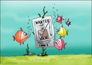 Kdo najde rybáře, dostane odměnu