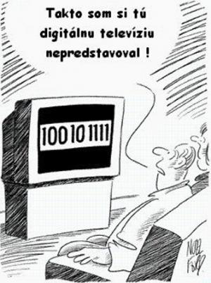 Jak vypadá digitální televize?