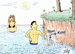Když si dopouštíš rybník a reguluješ jeho teplotu