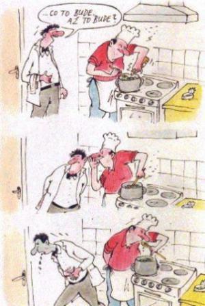Kuchař a jeho slavný recept