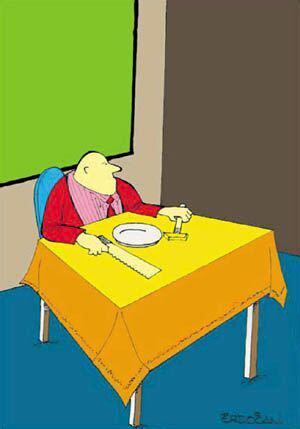 Jak vypadá hladový muž