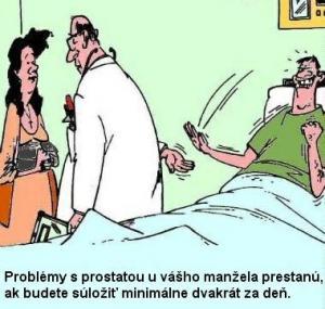 Problémy s prostatou