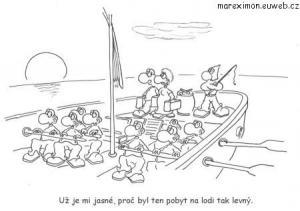 Velmi levný pobyt na lodi