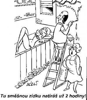 Když pracuješ déle kvůli své sousedce