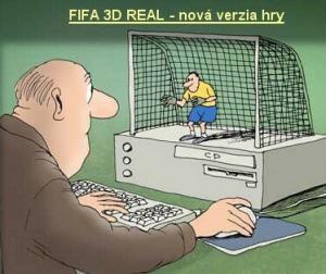 Nová verze hry Fifa 3D