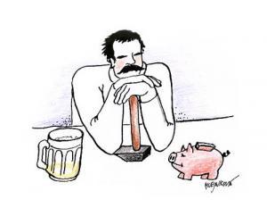 Pivo a peníze, základ života