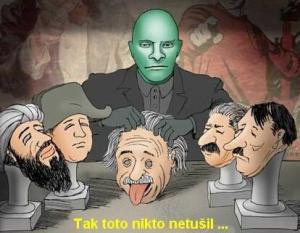 Einstein je jen maska