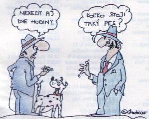 Když se zeptáš, kolik ten pes stojí