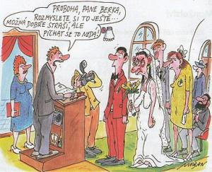 Rozmluvení před svatbou