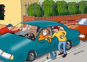 All inclusive při umývání auta
