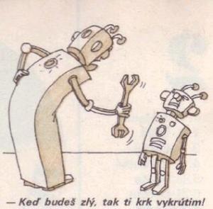 Jak si vyhrožují roboti