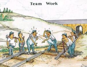 Tomuhle se říká týmová práce