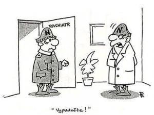 Jak to funguje u psychiatra?