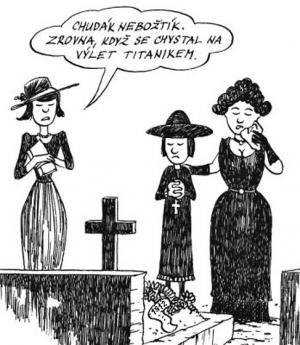 Úmrtí před úmrtím na Titaniku