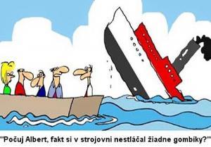 Jaktože se nám potápí loď?