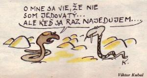 Co si mezi sebou vypráví hadi?