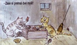 Když kočky hrají karty