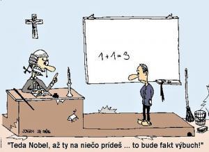 Když Nobel počítá příklad v matematice