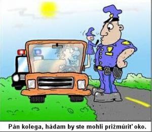 Pán, který má svoji policejní loutku
