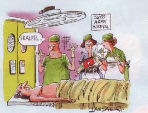 Jak vypadá armádní nemocnice