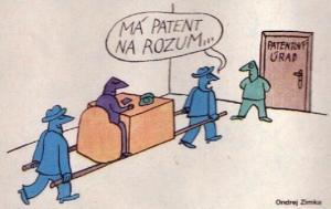 Má patent na rozum - patentový úřad
