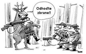 Když jelen nahání myslivce