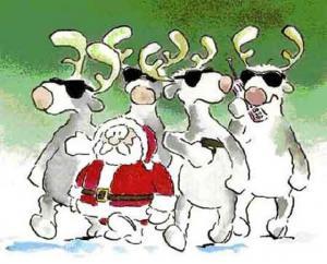 Pozor, Santa a jeho gang přichází