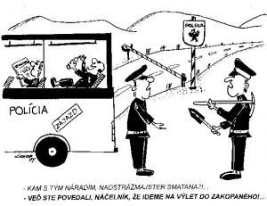 Zájezd policajtů do Polska