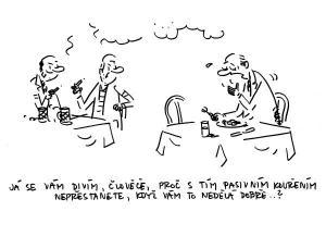 Kouření lidem nedělá dobře