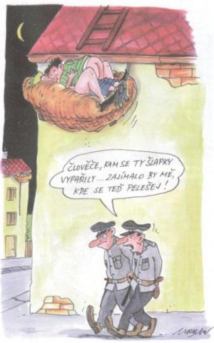 Policajti hledají šlapky