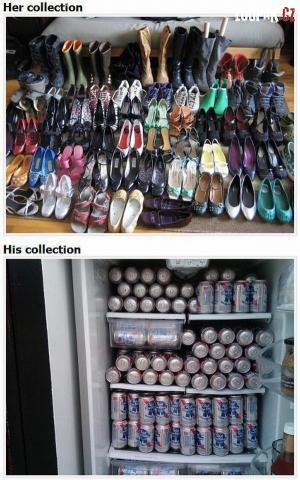 Jaký je rozdíl mezi jeho a její obuví