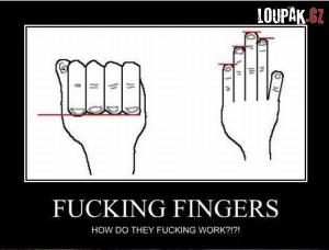 Když nechápeš své prsty