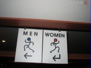 Kudy má jít chlap a kudy žena?
