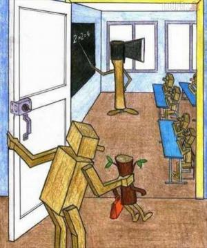 Jak vypadá školství v přírodní podobě