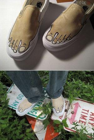 Originální a nenápadné botky