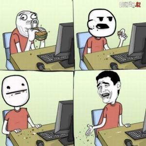 Když si k počítači vezmeš sváču