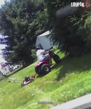 Když chceš posíct trávu precizně