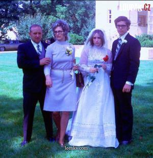 Rodinné svatební focení