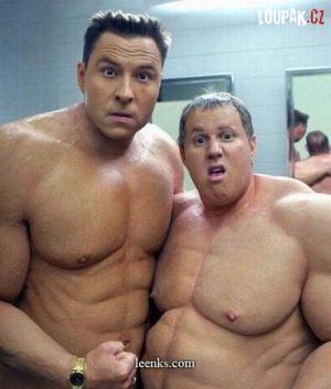 I když má člověk svaly, nemusí být přitažlivý