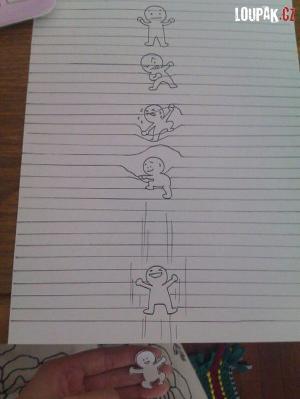 Krátký příběh na papír A4