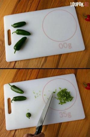 Jak funguje kuchyňská váha?