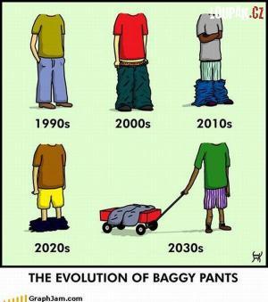 Jak se postupně měnily trendy