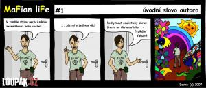 Realistický obraz života na matematické fakutltě