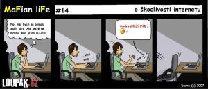 O škodlivosti internetu