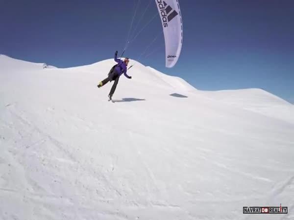 Paraglider Jean-Baptiste Chandelier