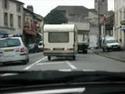 Francie - policie vs. karavan