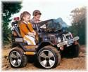Autíčko pro děti závodníků