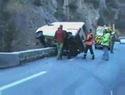 Autonehoda v horách